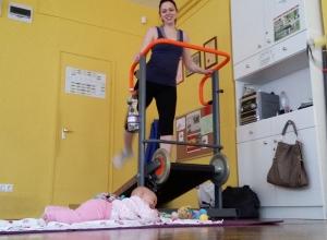 Babás edzés